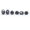 16.60 Ct 100% Certified Black Diamond Loose Beads- Earth Mined - ZeeDiamonds