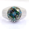 Rare 6 Ct AAA Certified Blue Diamond Solitaire Ring.Great Shine & Luster! AAA Quality - ZeeDiamonds