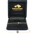 1 Ct Round Shape Blue Diamond Solitaire Bracelet - ZeeDiamonds