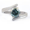 1.25 Ct AAA Certified Blue Diamond Solitaire Ring, Latest Collection