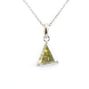 2.85 Ct AAA Certified Fancy Off-White Diamond Solitaire Pendant