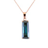 15.70 Ct AAA Certified Fancy Deep Blue Diamond Pendant, Great Shine - ZeeDiamonds