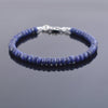 56.40 Ct Blue Sapphire Gemstone Bracelet, Everyday Collection , 18kt Gold Clasp - ZeeDiamonds