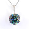5.65 Ct Certified Exclusive Blue Diamond Solitaire Pendant