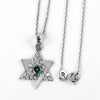 0.5 Certified Gorgeous Blue Diamond Star Pendant with Diamond Accents