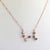 AAA 0.70 Ct Best Friend Necklace ,Bridesmaid Necklace ,Birthday,Scorpio Necklace - ZeeDiamonds