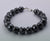 12 mm AAA Earth Mined Certified Black Diamond Bracelet - ZeeDiamonds