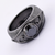 1.8 Ct Black Diamond Men's Ring in Black Gold - ZeeDiamonds