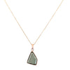 13.00 Ct Certified Fancy Cut Blue Diamond Solitaire Pendant With Rose Gold, AAA Quality, Great Brilliance ! - ZeeDiamonds