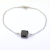 4 Ct AAA Certified Black Diamond Chain Bracelet, AAA Quality, Great Shine & Luster ! - ZeeDiamonds