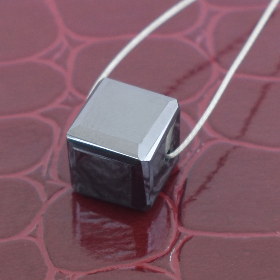 10 Ct Cube Shape Black Diamond Bead 100% Certified Elegant Shine & Stunning - ZeeDiamonds