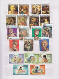 COLORFUL COLLECTION of GRENADA USED Stamps in Small Stock Book