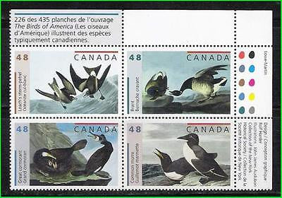 CANADA - 2003 BIRDS / BIRD DUCKS - SE-TENANT 4V - MNH TRAFFIC LIGHT