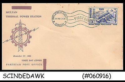 PAKISTAN - 1963 MULTAN THERMAL POWER STATION - FDC