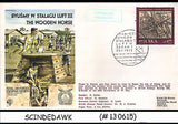 POLAND - 1983 ROYAL AIR FORCE ESCAPING SOCIETY THE WOODEN HORSE SPECIAL COVER WI