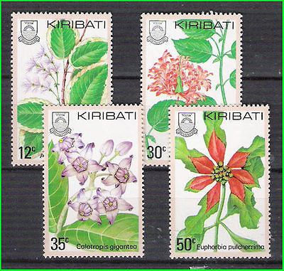 KIRIBATI - 1981 FLOWERS / FLOWER - 4V - MINT NH
