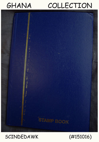 COLLECTION OF GHANA STAMPS & FDCs IN SMALL STOCK BOOK