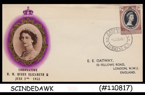 BECHUANALAND PROTECTORATE - 1953 QEII CORONATION - FDC