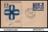 INDIA - 1969 RAFI AHMED KIDWAI Author ALL-UP AIRMAIL SCHEME - FDC