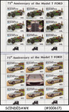 COLLECTION OF 75th Annv. of the Model T FORD / CAR SHEETLETS MNH 26nos ID:B158