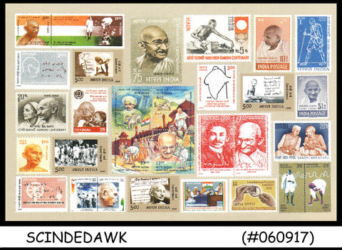 INDIA - 2006 SPECIAL MAHATMA GANDHI PICTURE POSTCARD - MINT