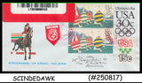 USA - 2006 OLYMPIC AEROGRAMME to ROMANIA - REGISTERED