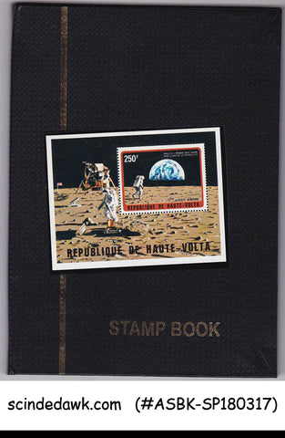 Collection of SPACE stamps from Different Countires in Small Stock Book