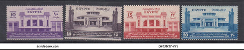 EGYPT - 1936 15th Agricultural and Industrial Exhibition - 4V MINT HINGED