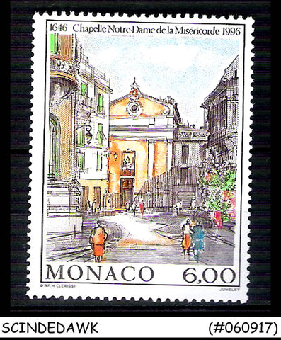 MONACO -1996 300TH ANNIV OF CHAPEL OF OUR LADY OF MERCY 1V MNH SG#2262