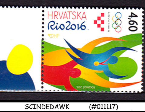 CROATIA - 2016 OLYMPIC GAMES RIO 2016 - 1V - MINT NH