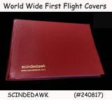 WORLD WIDE Collection of FIRST FLIGHT COVERS diff. countries in SPECIAL ALBUM