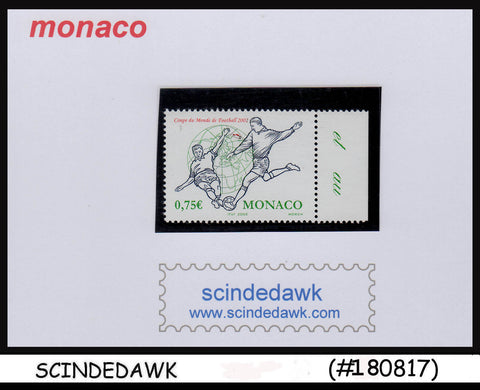 MONACO - 2002 WORLD CUP OF FOOTBALL / FIFA - 1V-  MNH