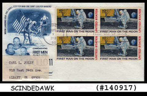 USA - 1969 FIRST MAN ON THE MOON SPACE - FDC