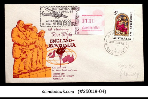 AUSTRALIA - 1988 AEROPEX 88 SPECIAL COVER WITH SPECIAL CANCL.