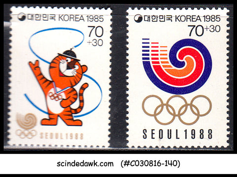 KOREA - 1985 OLYMPIC GAMES  SEOL 1988 - 2V - MINT NH