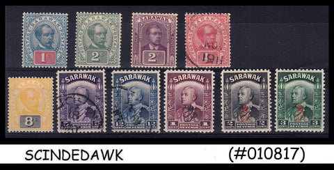 SARAWAK - SELECTED CLASSIC STAMPS - 10V (MINT & USED BOTH SEE SCAN )