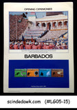 BARBADOS - 1984 OLYMPIC GAMES OPENING CEREMONY PANEL MNH
