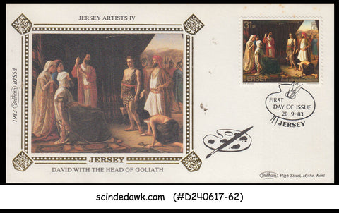 JERSEY - 1983 JERSEY ARTISTS / PAINTING - FDC