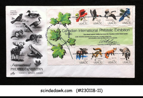 UNITED STATES USA - 1978  CAPEX INTERNATIONAL PHILATELIC EXHIBITION FDC