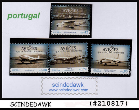PORTUGAL - 2014 AVIATION / AIRCRAFTS / AVI ES - 4V - MINT MNH