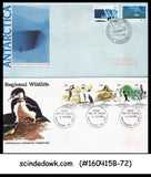 AUSTRALIAN ANTARCTIC TERRITORY - SELECTED FIRST DAY COVERS - 6nos