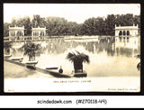 GREAT BRITAIN - 1911 SHALIMAR GARDEN LAHORE PICTURE POSTCARD WITH KGV STAMP USED