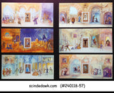 FRANCE - 2006 THE OPERA OF MOZART - SET OF 6 FOLDERS  (6-Miniature sheets MNH)