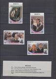 COLLECTION of ROYAL WEDDING Prince Andrew 1986 Different Countries in an ALBUM