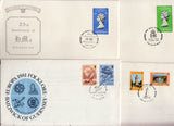 BAILIWICK OF GUERNSEY - SELECTED FIRST DAY COVER - 12nos