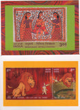 INDIA 2003 SPECIAL SET OF 10 PICTURE POSTCARDS PRINTED FOR LUCKNOW MAHOTSAV MINT