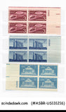 COLLECTION of  USA BLOCK OF 4 - STAMPS in SMALL STOCK BOOK