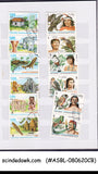 COLLECTION OF CUBA STAMPS IN SMALL STOCK BOOK - 95 STAMPS