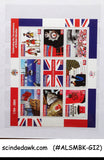 COLLECTION OF GIBRALTAR MINT STAMPS IN SMALL STOCK BOOK - 57 STAMPS & 3 M/S