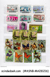 MALAYSIA- COLLECTION OF STAMPS & MS IN SMALL STOCK BOOK